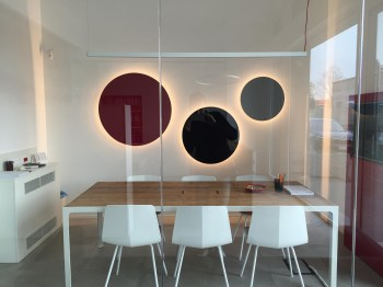 LVB CIRCLE LIGHT WALL